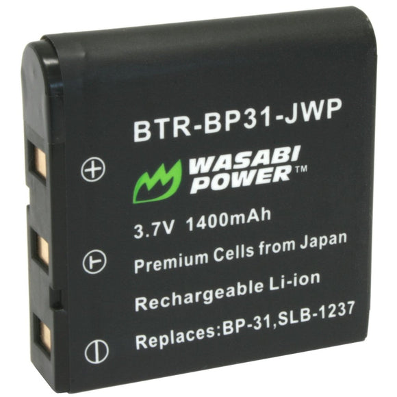 Samsung SLB-1237 Battery by Wasabi Power
