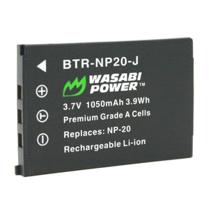 Casio NP-20, NP-20DBA Battery by Wasabi Power