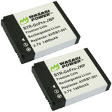GoPro HERO2, Original HD HERO 2010 Battery (2-Pack) by Wasabi Power