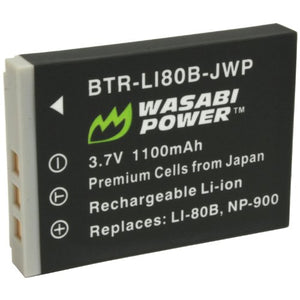 Olympus LI-80B Battery by Wasabi Power