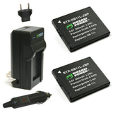 Canon NB-11L, NB-11LH Battery (2-Pack) and Charger by Wasabi Power