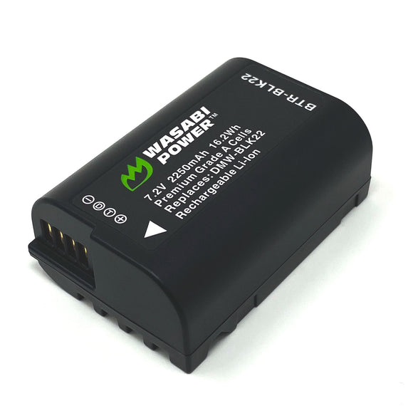 Panasonic DMW-BLK22 Battery by Wasabi Power