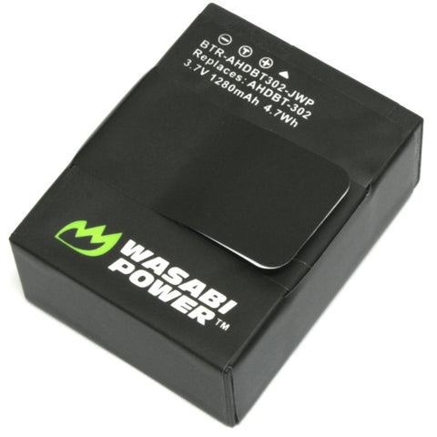GoPro HERO3, HERO3+ Battery by Wasabi Power