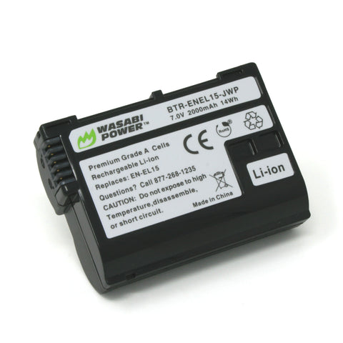 Nikon EN-EL15 Battery by Wasabi Power