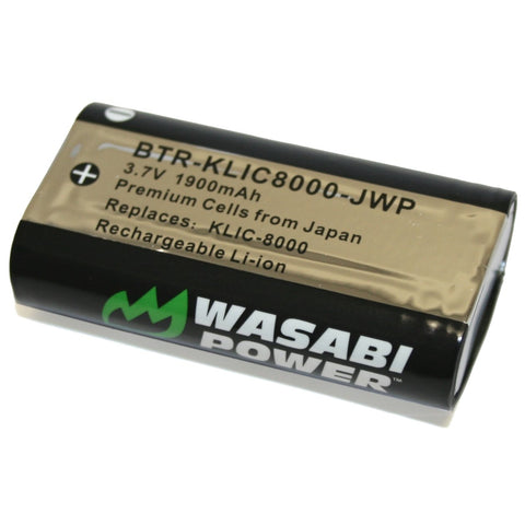 Ricoh DB-50 Battery by Wasabi Power