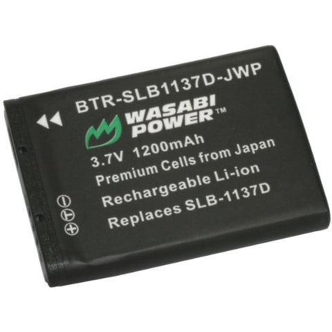 Samsung SLB-1137D Battery by Wasabi Power