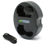Fujifilm NP-W235 Dual USB Battery Charger by Wasabi Power