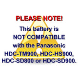 Panasonic DMW-BLA13, VW-VBG130 Battery (2-Pack) and Charger by Wasabi Power