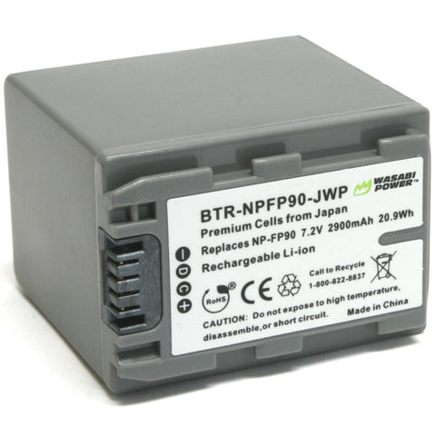 Sony NP-FP90 Battery by Wasabi Power