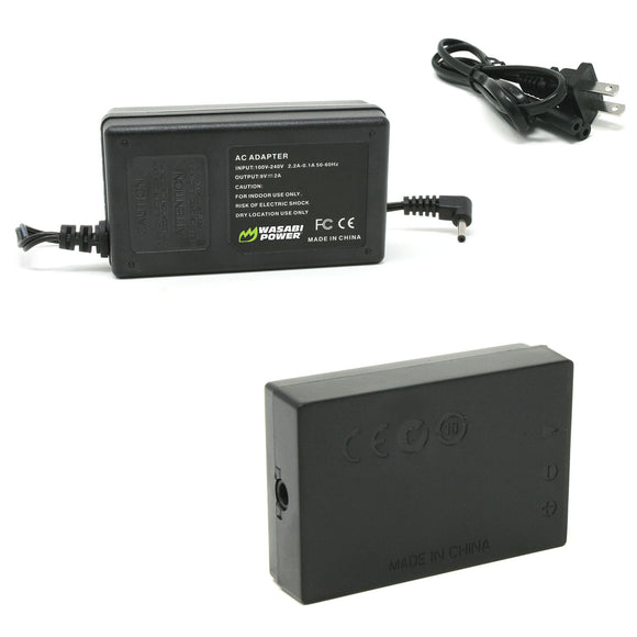 Canon LP-E12 AC Power Adapter Kit with DC Coupler for Canon ACK-E12, DR-E12, CA-PS700 by Wasabi Power