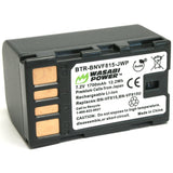 JVC BN-VF815 Battery by Wasabi Power