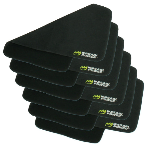 Cleaning Cloth (6-Pack) for Cameras, Lenses, Screens, Glasses by Wasabi Power