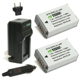 Wasabi Power Battery (2-Pack) and Charger for Nikon EN-EL24