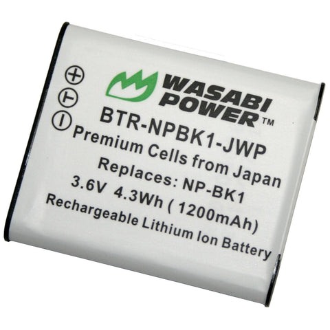 Sony NP-BK1 Battery by Wasabi Power