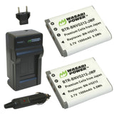 JVC BN-VG212 Battery (2-Pack) and Charger by Wasabi Power