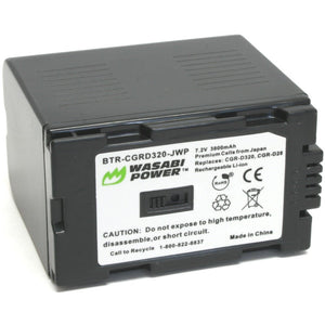 Hitachi DZ-BP14, DZ-BP16, DZ-BP28, DZ-BP32 Battery by Wasabi Power
