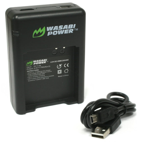 Samsung EB-BC200 Dual Charger by Wasabi Power