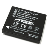 Wasabi Power Battery for Panasonic DMW-BCF10, CGA-S/106B