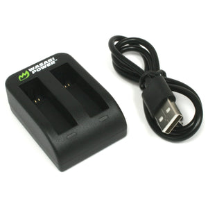 Garmin VIRB Ultra 30 Dual Charger by Wasabi Power