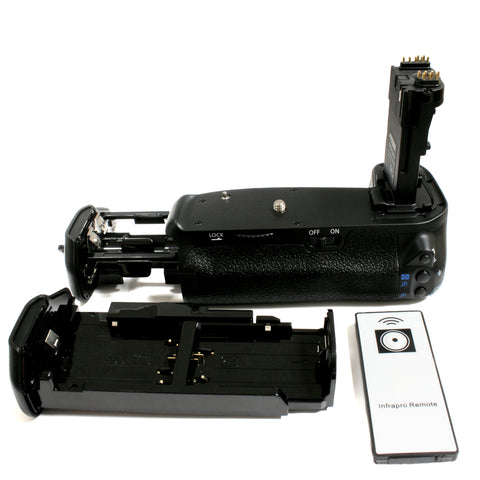 Canon BG-E14H for Canon LP-E6 (with Remote) Battery Grip by Wasabi Power