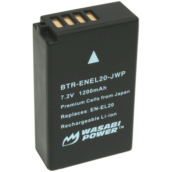 Nikon EN-EL20, EN-EL20a Battery by Wasabi Power