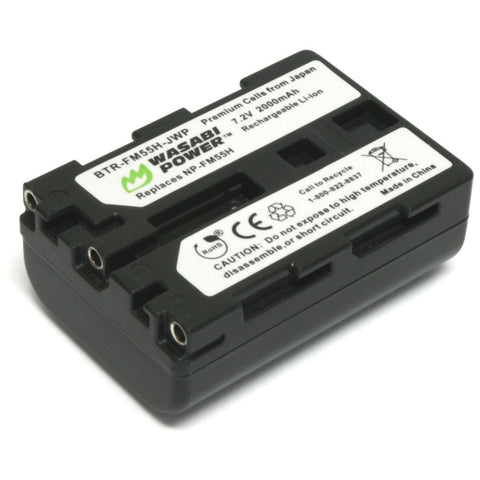 Wasabi Power Battery for Sony NP-FM55H
