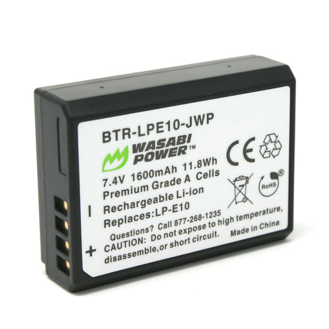 Canon LP-E10 Battery by Wasabi Power