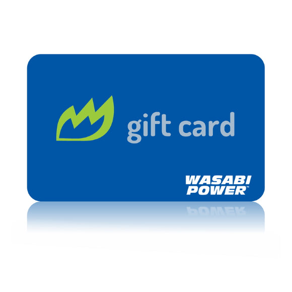 Wasabi Power Gift Card