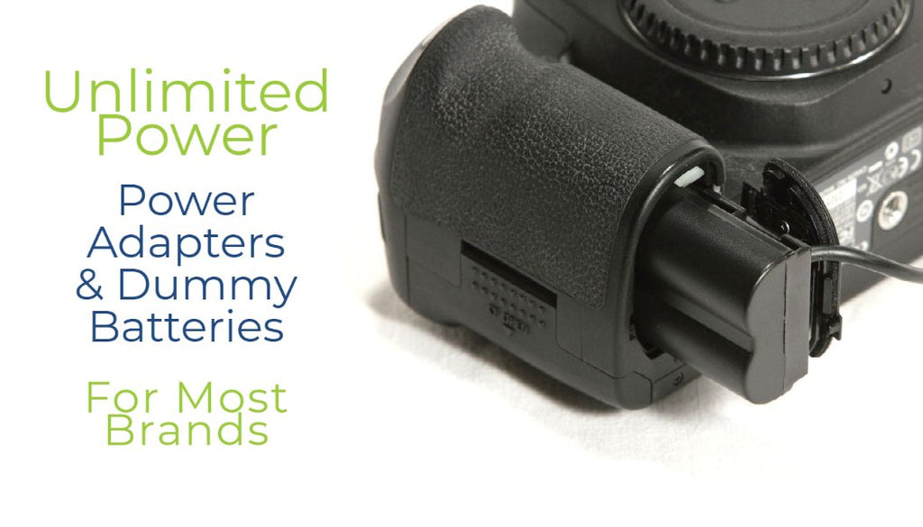 Wasabi Power Power Adapters and Dummy Batteries