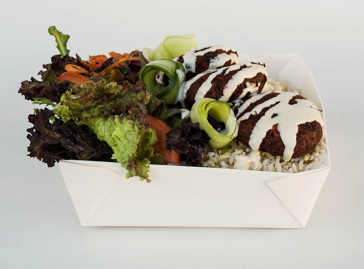 Falafel Rice Box