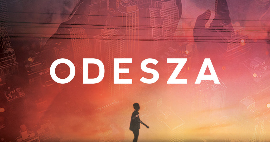 Odesza Live on Stage; Rory Wynne Andrew in his Custom Spirit Jersey®