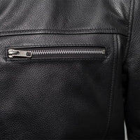 Rocky - Men's Motorcycle Leather Jacket
