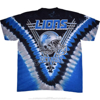 Officially Licensed NFL Detroit Lions Tie Dye T-Shirt