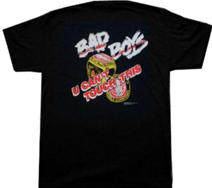 Officially Licensed Detroit Bad Boys U Can't Touch This T-Shirt Back