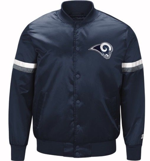 Authentic Los Angeles Rams  Starter NFL satin  jacket - Blue