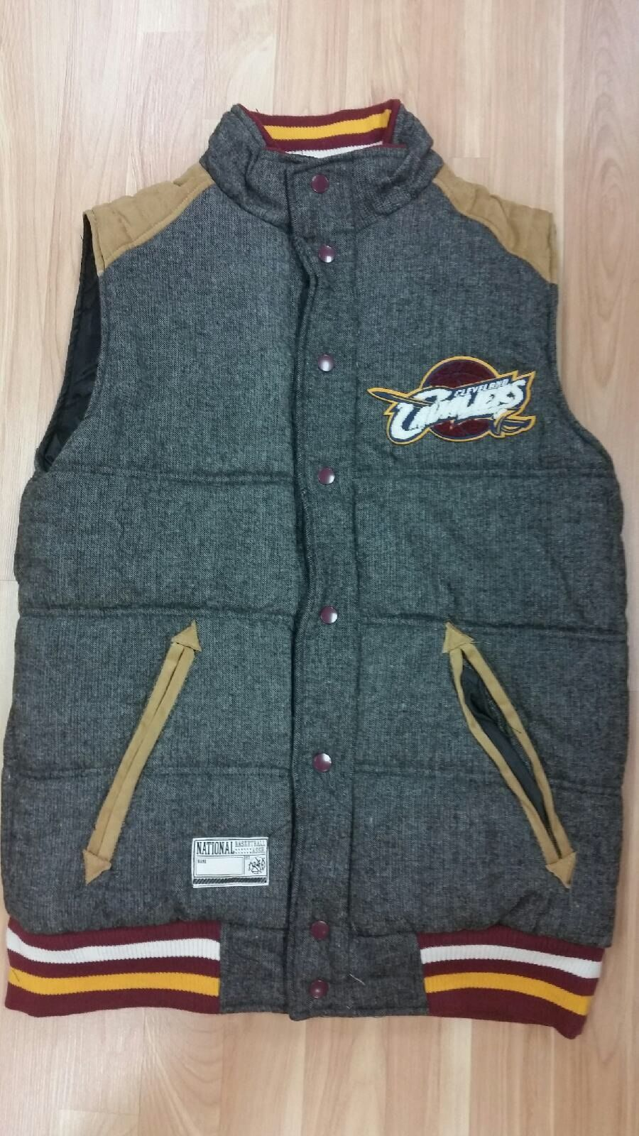 Cleveland Cavaliers NBA Reversible Bubble Vest