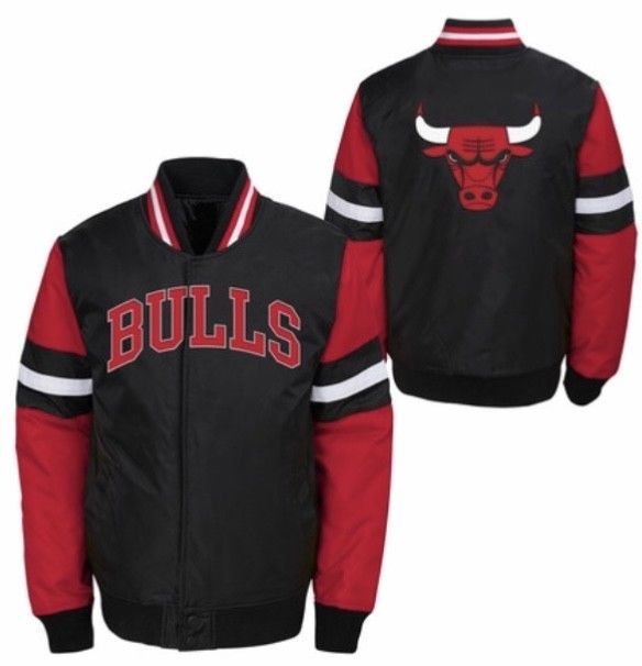 Officially licensed Kids NBA Chicago Bulls nylon jacket