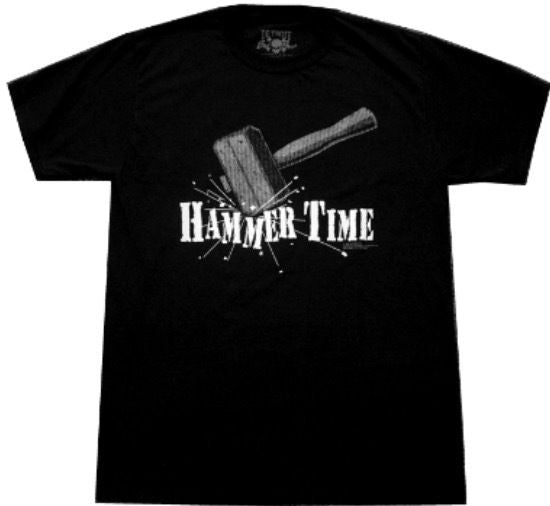 Officially Licensed Detroit Bad Boys Hammer Time T-Shirt Back
