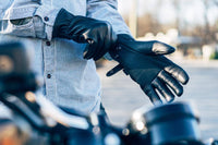 Pursuit - Men's Motorcycle Gloves With DuPont™ Kevlar™ lined palm