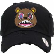 Baws Bear Black and Brown Dad Hat