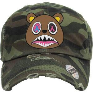 Baws Bear Camouflage Dad Hat