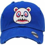 Baws-Bear-Royal Blue-Dad-White-Hat