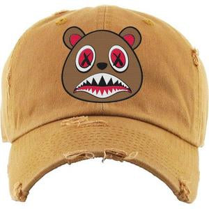 Baws-Bear-Wheat-Dad-Hat
