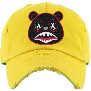Baws Bear Yellow Dad Hat