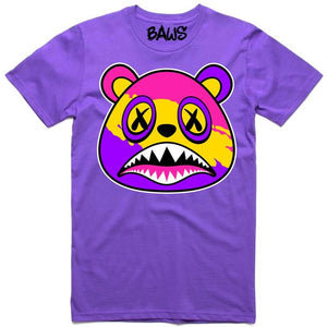 Baws Neon Splash Purple T-Shirt