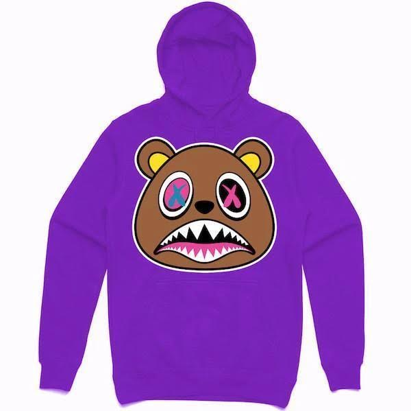Crazy Baws Hoodie - Purple