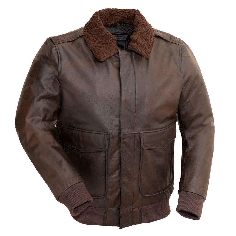 Bomber - Men's Leather Jacket