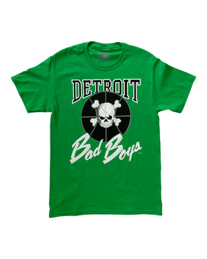 Authentic Detroit Bad Boys Green T-Shirt