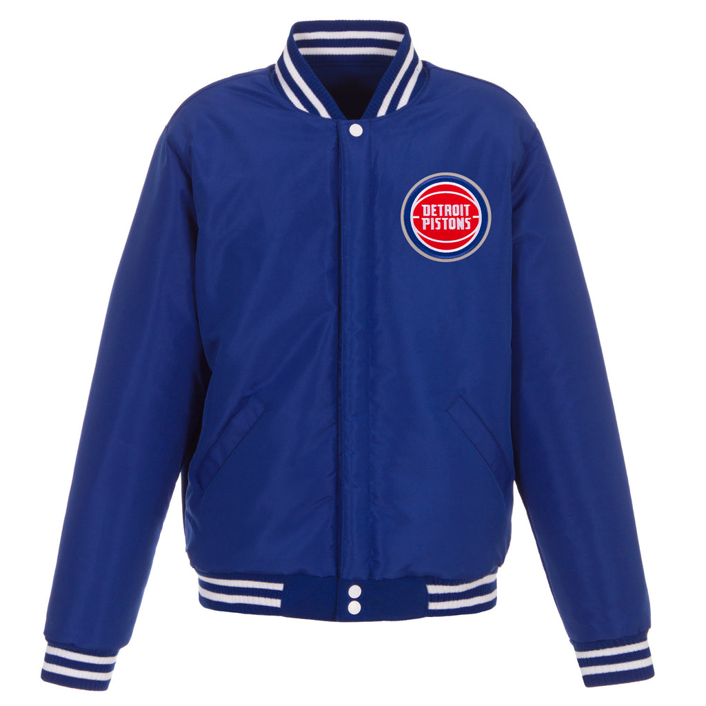 Detroit Pistons Reversible Fleece Jacket