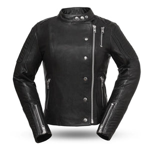 Warrior Princess - Women's Motorcycle Leather Jacket